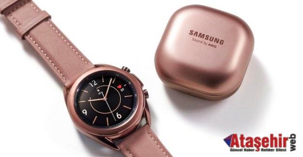 Galaxy Watch3 ve Galaxy Buds Live yarın satışa çıkıyor