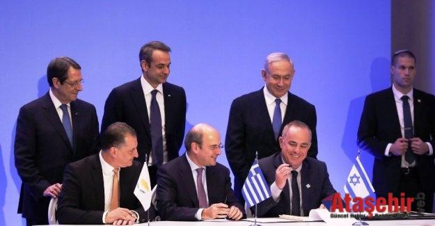 Akdeniz'de Türkiyesiz doğal gaz forumu resmiyet kazandı