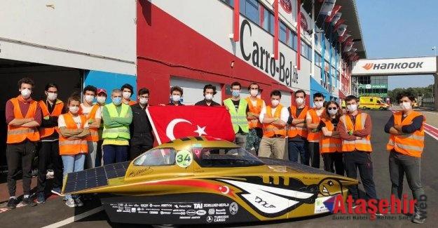 Türkiye'den ödül alan tek araç İTÜ'nün aracı oldu