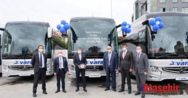 Varan Turizm 70 milyon TL'lik yerli otobüs satın aldı