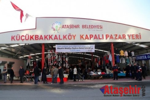ATAŞEHİR'DE KAPALI PAZARLAR OTOPARKA DÖNÜŞTÜRÜLDÜ