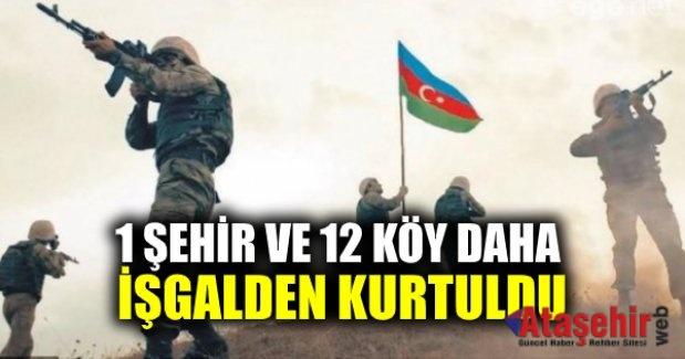 AZERBAYCAN ORDUSUNUN İLERLEYİŞİ HIZ KESMİYOR