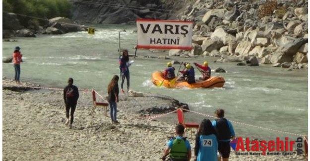 """""""Türkiye Rafting Şampiyonası"""" sona erdi"""