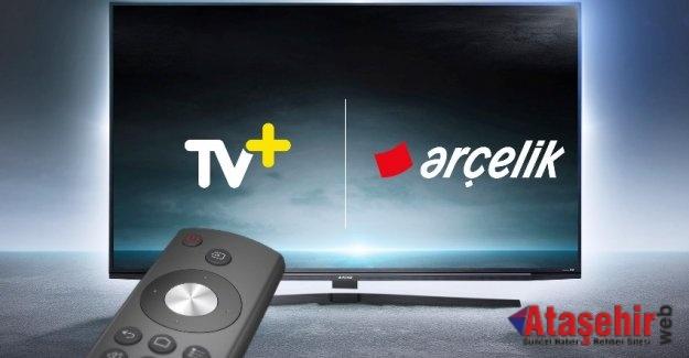 ARÇELİK TELEVİZYONLAR TEK TUŞLA TV+ DÜNYASINA AÇILIYOR
