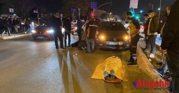 Ataşehir'de otomobil yayalara çarptı: 2 yaralı