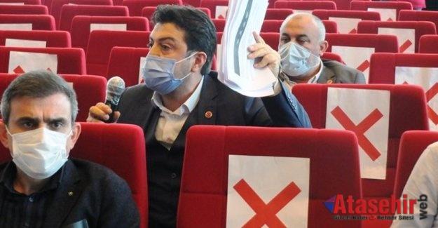 Ataşehir Belediye Meclisinin gündemi Kentsel Dönüşüm