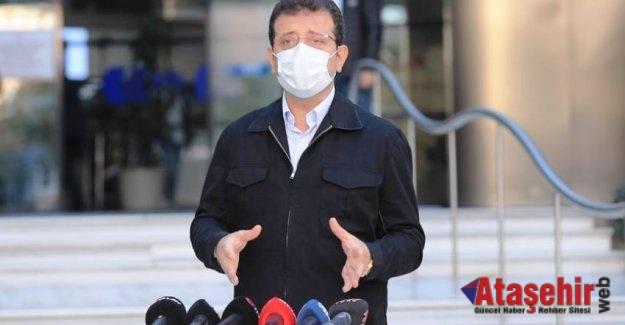 """İmamoğlu """"Karantina biter bitmez İzmir'e gideceğim"""""""