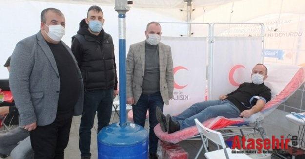 MHP Ataşehir İlçe Başkanlığı kan bağışına destek verdi