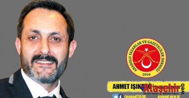 AYGAD Başkanı Ahmet Işıkdağ'dan 10 Ocak Çalışan Gazeteciler Günü mesajı