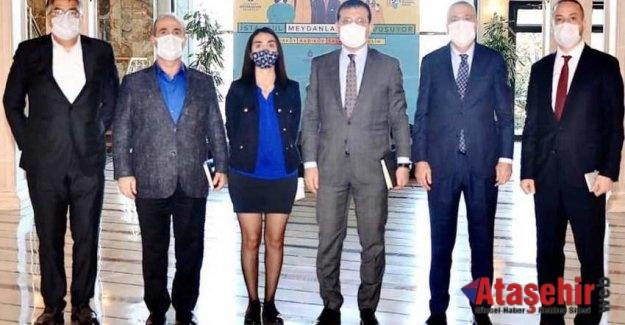 Battal İlgezdi, İBB Başkanı İmamoğlu İle Görüştü