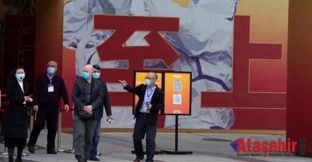 Dünya Sağlık Örgütü ekibi, Vuhan'daki Huanan balık pazarında inceleme yaptı.