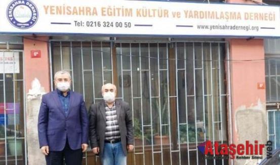 İsmail Erdem Yenisahra Derneği'ni ziyaret etti