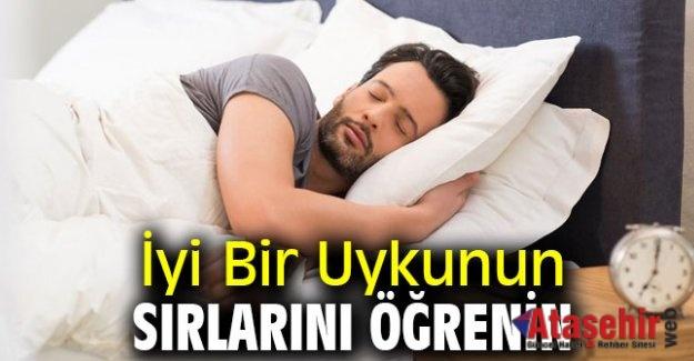 İyi Bir Uykunun Sırlarını Öğrenin