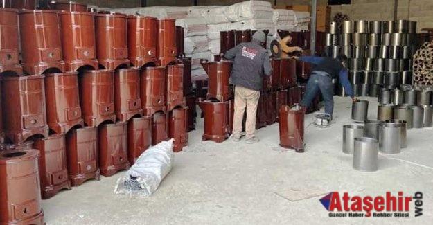 TDV'den Suriye'ye soba yardımı