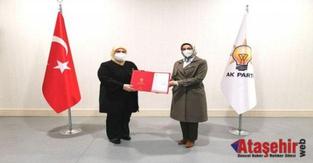 AK Parti Ataşehir Kadın Kollarında görev değişikliği