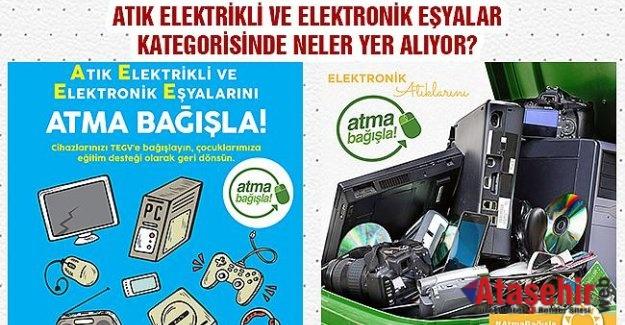 Elektronik Atıklar Nitelikli Eğitime Dönüşüyor!