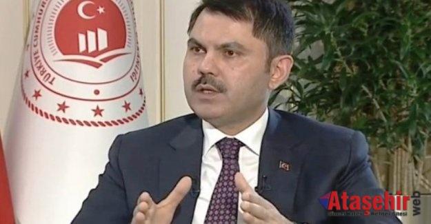 Bakanı Murat Kurum, canlı yayında soruları yanıtladı