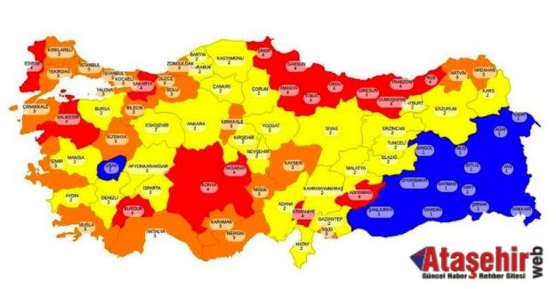 İstanbul dahil 9 il daha kırmızı listeye girebilir!