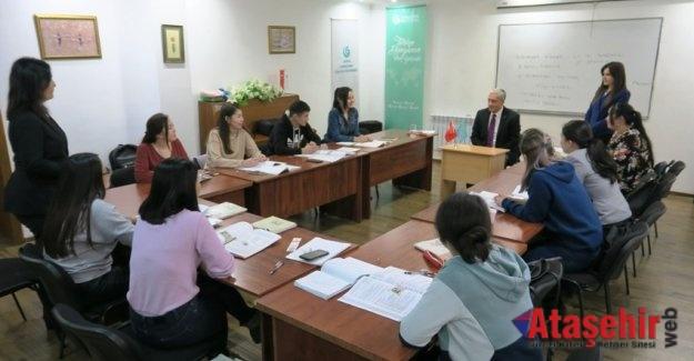 Kazakistan'da Türkçe Kurslarına Rekor Başvuru!