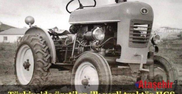 Türkiye'de Üretilen İlk Yerti Traktör