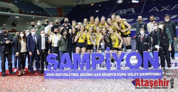 VakıfBank, yedinci kez Kupa Voley şampiyonu