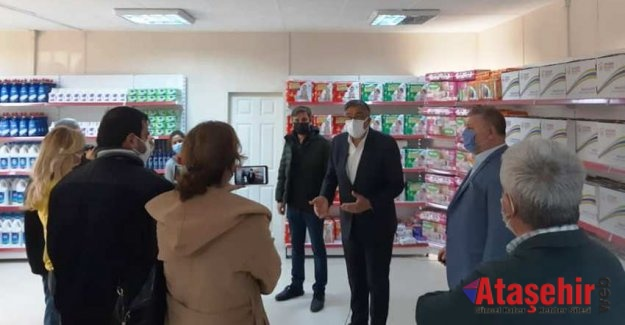 ATAŞEHİR'DE İKİNCİ SOSYAL MARKET DE HİZMETE AÇILDI