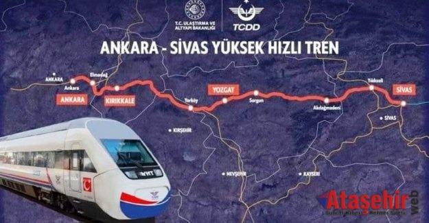 Ankara-Sivas YHT hattı 4 Eylülde açılıyor