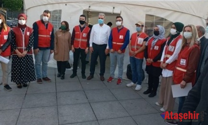 Ataşehir AK Parti ve Kızılay Kan Bağışı Kampanyası Başlattı