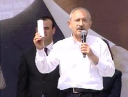 CHP Genel Başkanı Kemal Kılıçdaroğlu Yozgat mitinginde seçmenlere seslendi