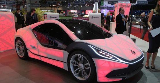 3D yazıcıyla Yapılan otomobil