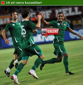 Timsah'ın 'el'i tutulmaz! Bursaspor deplasmanda Galatasaray'ı 2-0 mağlup etti.