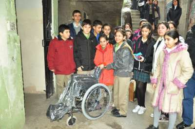 Maltepe Belediyesinden cezaevine tekerlekli sandalye