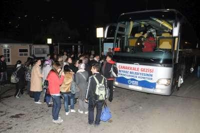 Beykoz'dan Şehitler Diyarı Çanakkale'ye Vefa Ziyaretleri