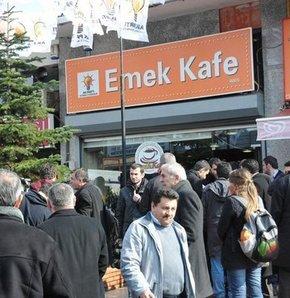 AK Parti Emek Kafesi'ni açtı