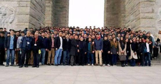 Ak Parti Ataşehirli Gençlerin Çanakkale ziyareti