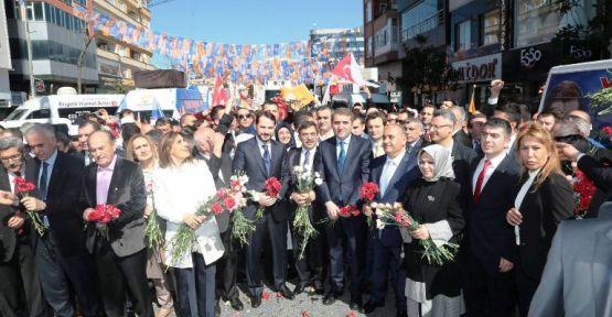 AK Parti Seçim Startını Ümraniye'den verdi