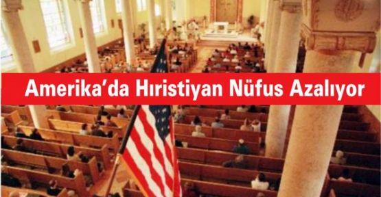 Amerika'da Hıristiyan Nüfus Azalıyor