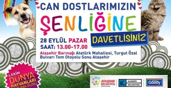 """Ataşehir'de """"Can Dostlar"""" buluşuyor"""