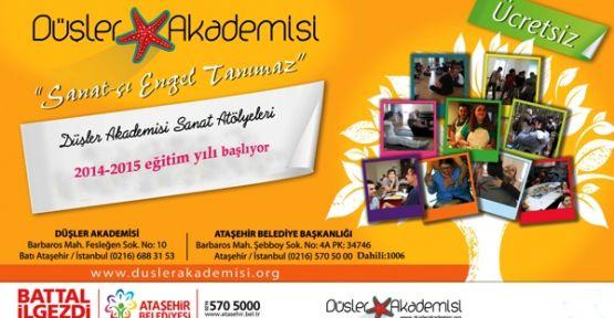 Ataşehir'de Engelliler, Hobi ve Sanat kursları başlıyor