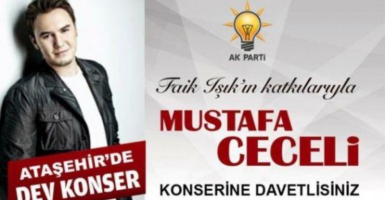 Ataşehir'de Mustafa Ceceli rüzgarı esecek