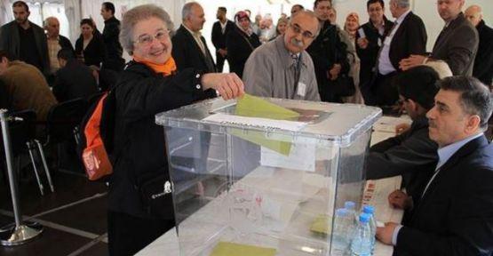 Avrupalı Türkler'de Seçim Heyecanı