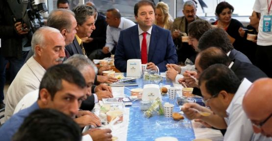 Başkan Ali Kılıç, Maltepelileri dinliyor