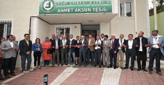 Beykoz Soğuksu Spor Kulübü Tesisleri Hizmete Açıldı