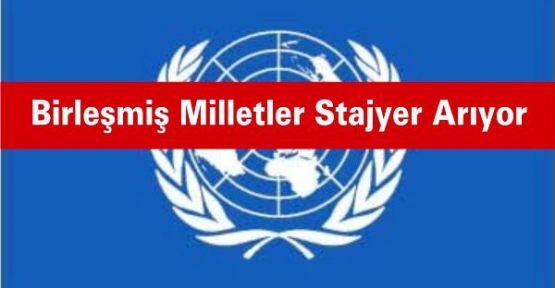 Birleşmiş Milletler Stajyer Arıyor