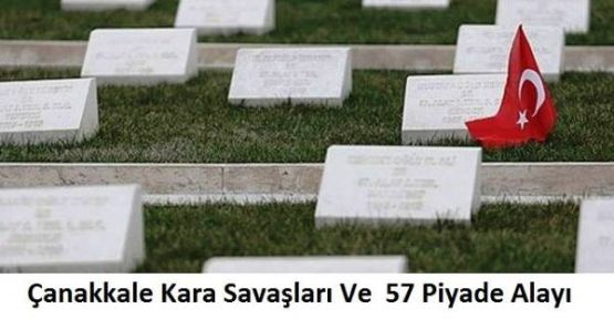 Çanakkale Savaşı, 57. Alay