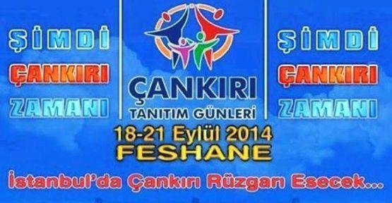 Çankırı İstanbul'da Feshane'de buluşuyor