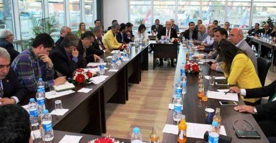 CHP 1 Bölge Milletvekili Adayları, İlçe başkanları, SKM yöneticileriyle  buluştu