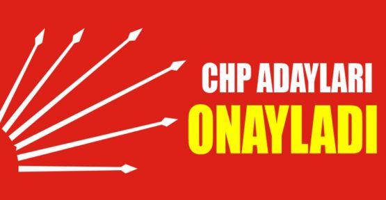 CHP'nin İstanbul Ankara  ve  İzmir  milletvekili adayları