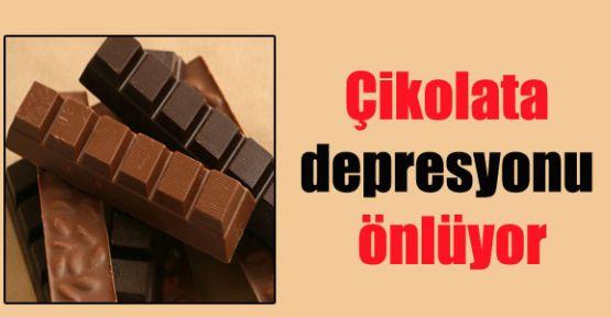 'Çikolata Depresyonu Önlüyor'