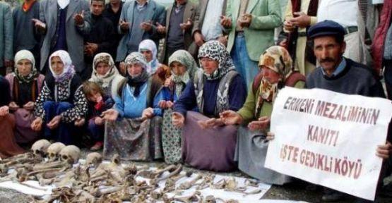 Diasporayı yalanlayan toplu mezarlar-Iğdır-Tuzluca-Gedikli